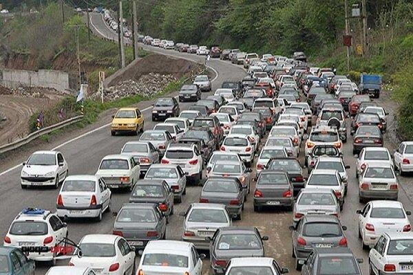 وضعیت ترافیکی جادهها در روز ۲۶ شهریور ۹۹