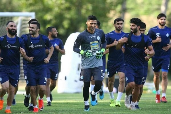 AFC از استقلالیها تست کرونا گرفت +عکس