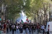 تظاهرات شهروندان فرانسوی علیه دولت «ماکرون»