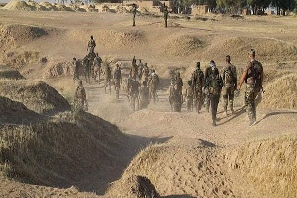 ۲ رزمنده الحشد الشعبی در جریان دفع دلیرانه حمله داعش شهید شدند