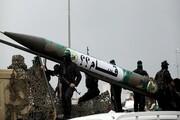 آزمایش موشک ساحل به دریا توسط حماس