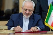 ظریف: چشم انداز وسیعتری میان ایران و چین را آرزومندم