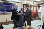 مراسم تکریم و معارفه مدیرکل حراست دانشگاه آزاد اسلامی خوزستان برگزار شد