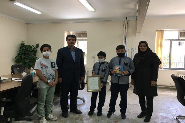 بورس تحصیلی برای استعدادهای برتر دانش آموزی در مدارس سمای زنجان