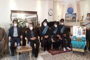 مراسمبزرگداشت شهید مدافع سلامت منوچهر آقایی برگزار شد