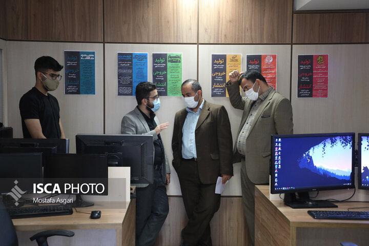 بازدید مدیر کل فرهنگی و اجتماعی دانشگاه آزاد