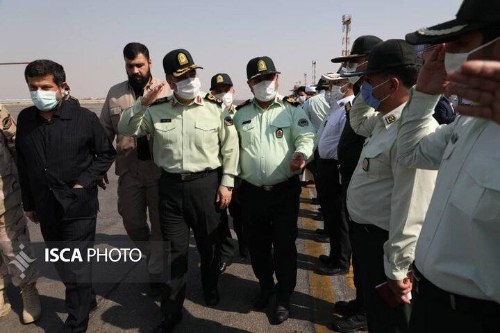سفر فرمانده ناجا به استان خوزستان