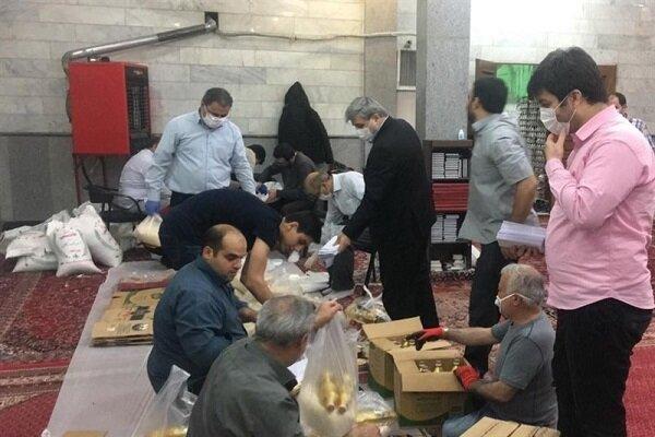 مسجدی ها پایه کار کمک به نیازمندان