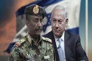 دیدار نتانیاهو و رئیس شورای حاکمیتی سودان