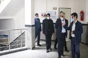 بازدید دکتر طهرانچی از دانشگاه آزاد سرعین