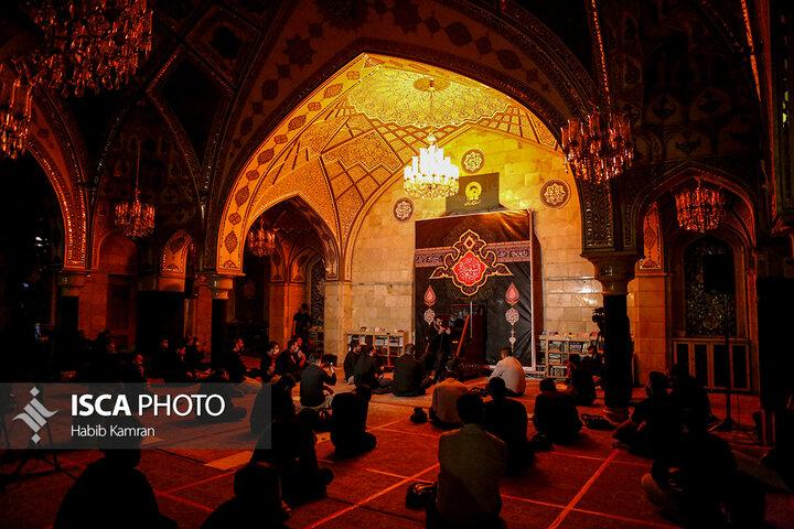 مراسم عزاداری و سوگواری شب شهادت حضرت رقیه (س)