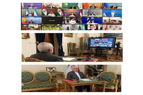 ظریف: به یکپارچه نمودن همکاریهای خود در چارچوب سیکا نیازمندیم