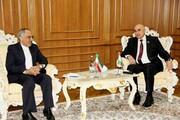 گسترش روابط دوجانبه ایران و تاجیکستان