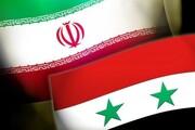 توافق ایران و سوریه بر تشکیل کمیته راهبردی طی دو هفته آتی