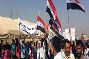 تداوم تجمع مردمی در استان الحسکه علیه اشغالگری آمریکا و ترکیه