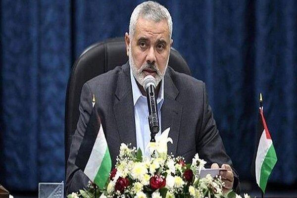 هنیه: از عدم پذیرش عادیسازی توسط الجزایر قدردانی میکنیم