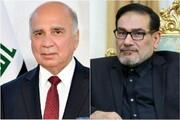 وزیر خارجه عراق فردا با شمخانی دیدار میکند