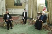 دیدار وزیر خارجه عراق با روحانی