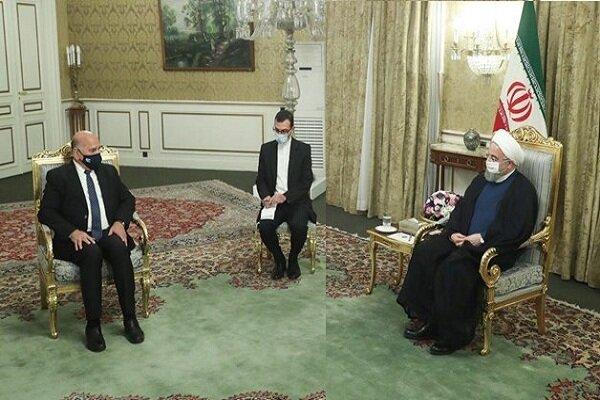 وزیر امور خارجه عراق با رئیس جمهوری ایران دیدار و گفت و گو کرد