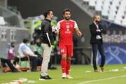 درخواست عجیب گلمحمدی از نیمکت نشینان/ نعمتی بازی بعدی را از دست داد