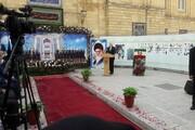 تقدیر ظریف از خانوادههای شهدای وزارت امور خارجه