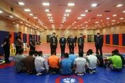 اردوی تیم کشتی فرنگی دانشگاه آزاد اسلامی برگزار شد