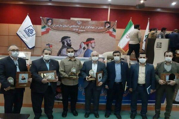 جهادگران عرصه سلامت دانشگاه آزاد واحد نور تجلیل شدند