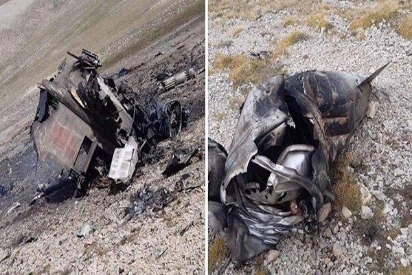 ارمنستان تصویر «سوخو-۲۵» ساقط شده خود را منتشر کرد
