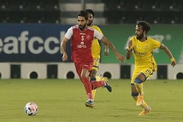 باشگاه النصر یک شک علیه پرسپولیس را مطرح کرده است