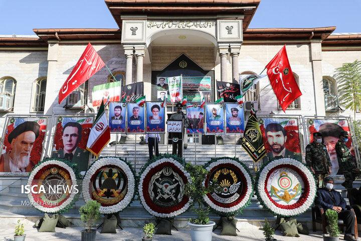 مراسم تشییع پیکر شهید مدافع سلامت ابوالفضل محمدی