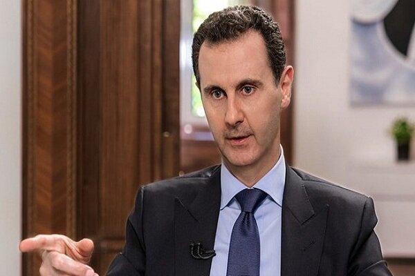 بشار اسد: شمشیر قدس، پیروزی فلسطین دربرابر دشمن صهیونیست بود