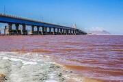 افزایش  ۳۵ سانتیمتری عمق دریاچه ارومیه