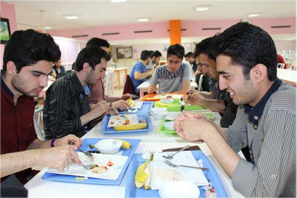 نرخ غذای دانشجویی در سال تحصیلی جدید اعلام شد