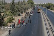 پیاده روی اربعین در دمشق
