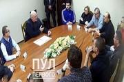 دیدار و رایزنی لوکاشنکو با مخالفانش درباره اصلاح قانون اساسی