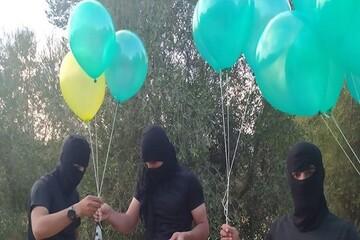 آغاز دوباره ارسال بالنهای آتشزا به سمت فلسطین اشغالی