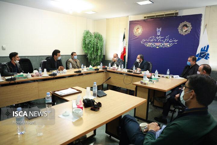 تقدیر از مدال آوران ووشو و تکواندو دانشگاه آزاد اسلامی