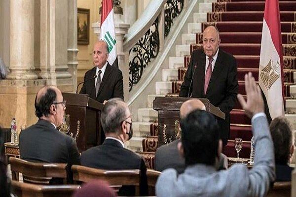 نشست سه جانبه وزرای خارجه عراق، اردن و مصر در قاهره