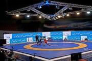 دومین پیروزی تیم کشتی فرنگی دانشگاه آزاد اسلامی