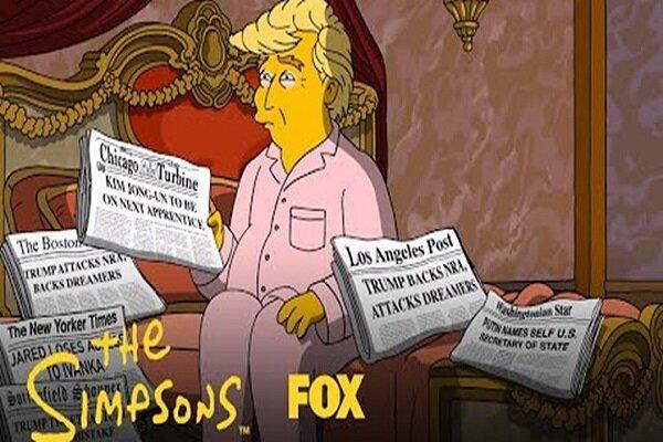 «سیمپسونها» و ۵۰ دلیل ترس از انتخاب دوباره ترامپ
