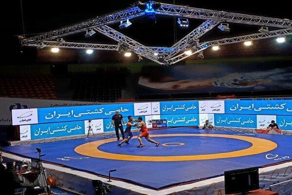 دومین پیروزی تیم کشتی فرنگی دانشگاه آزاد اسلامی، مقابل تیم شهدای مقاومت قم