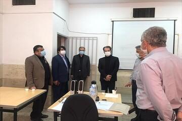 بازدید رئیس مرکز سنجش دانشگاه آزاد از روند مصاحبه دکتری واحد تهران جنوب