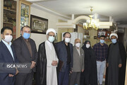 سفر دکتر جهانبین به دانشگاه آزاد اسلامی خوزستان