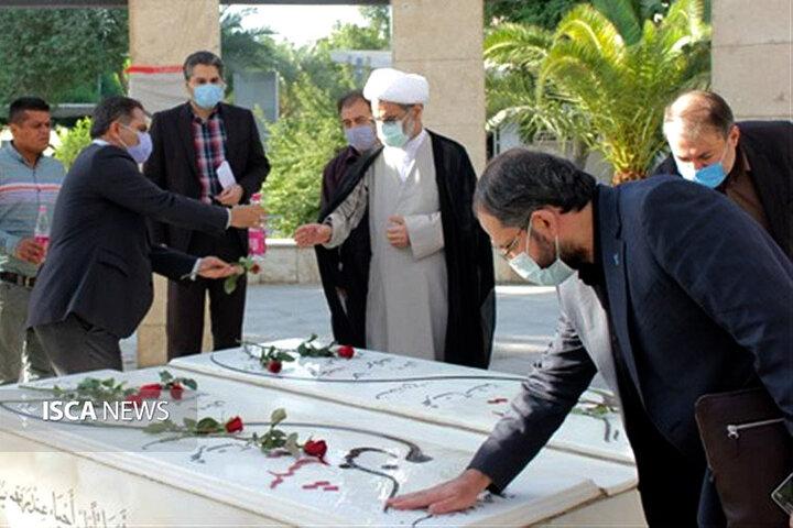 حضور دکتر جهانبین در دانشگاه آزاد اسلامی واحد اهواز