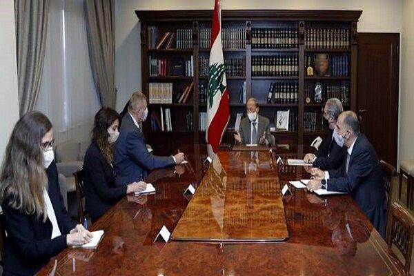 ابراز امیدواری «عون» به حصول توافق برای حفظ حقوق حاکمیتی لبنان
