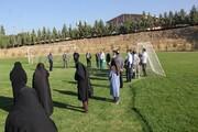 پیاده روی نمادین کارکنان در دانشگاه آزاد اسلامی کرج