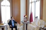 وزیر خزانهداری آمریکا با امیر قطر دیدار کرد