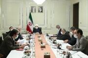 برگزاری جلسه ستاد ملی مقابله با کرونا با حضور روحانی