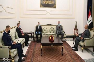 تاکید رئیسجمهور عراق بر کاهش تنش در منطقه در دیدار با سفیر روسیه