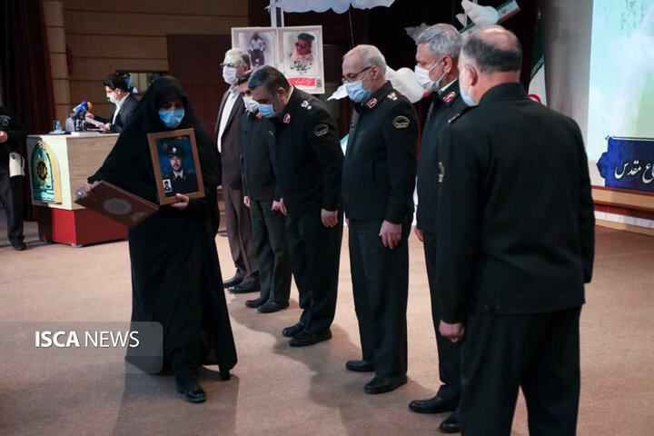 آیین نکوداشت شهدای عرصه نظم و امنیت در چهلمین سالگرد دفاع مقدس